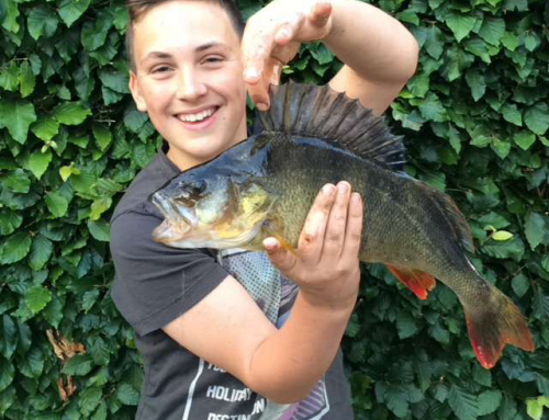 Jake with Big Perch
